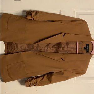 Tan blazer